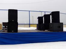 Сценическое и звуковое оборудование